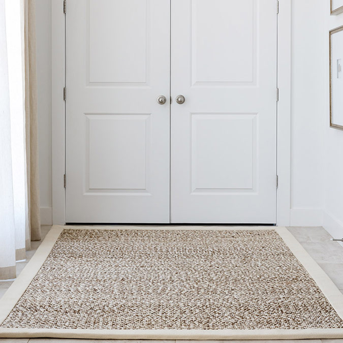 create a calm & welcoming entrance with tortington in color pearl