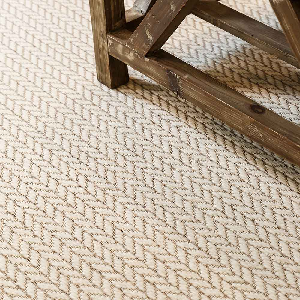 very soft underfoot and handsomely tailored: alps in beige