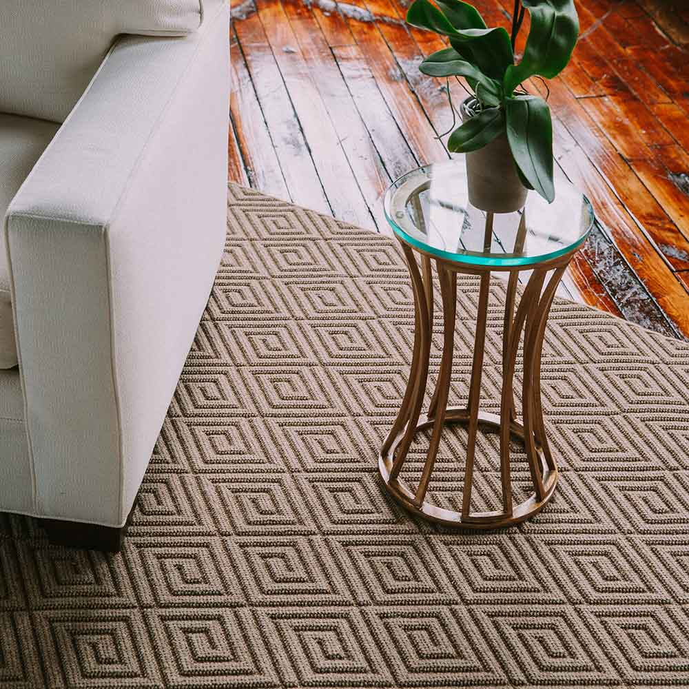 warm up interior spaces with groton  in light brown