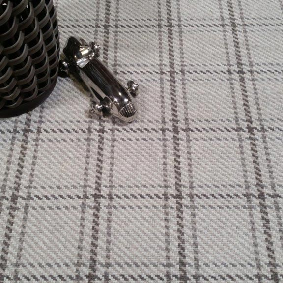 add plaid to your room: hensley in ivory