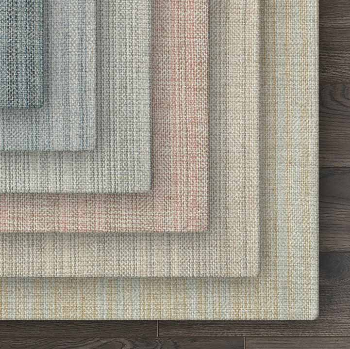 soft color palette: pimlico handloomed wool weave