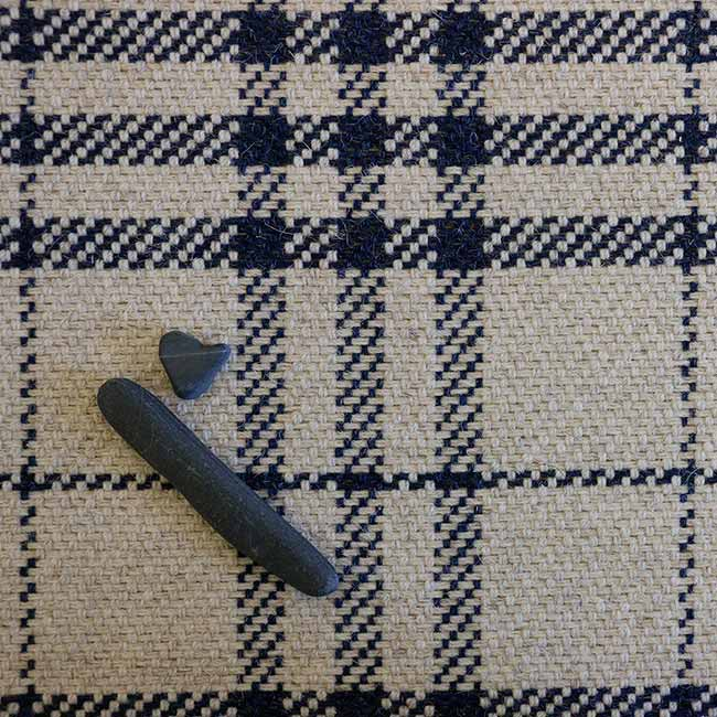 close-up plaid: glencoe in atlantic navy