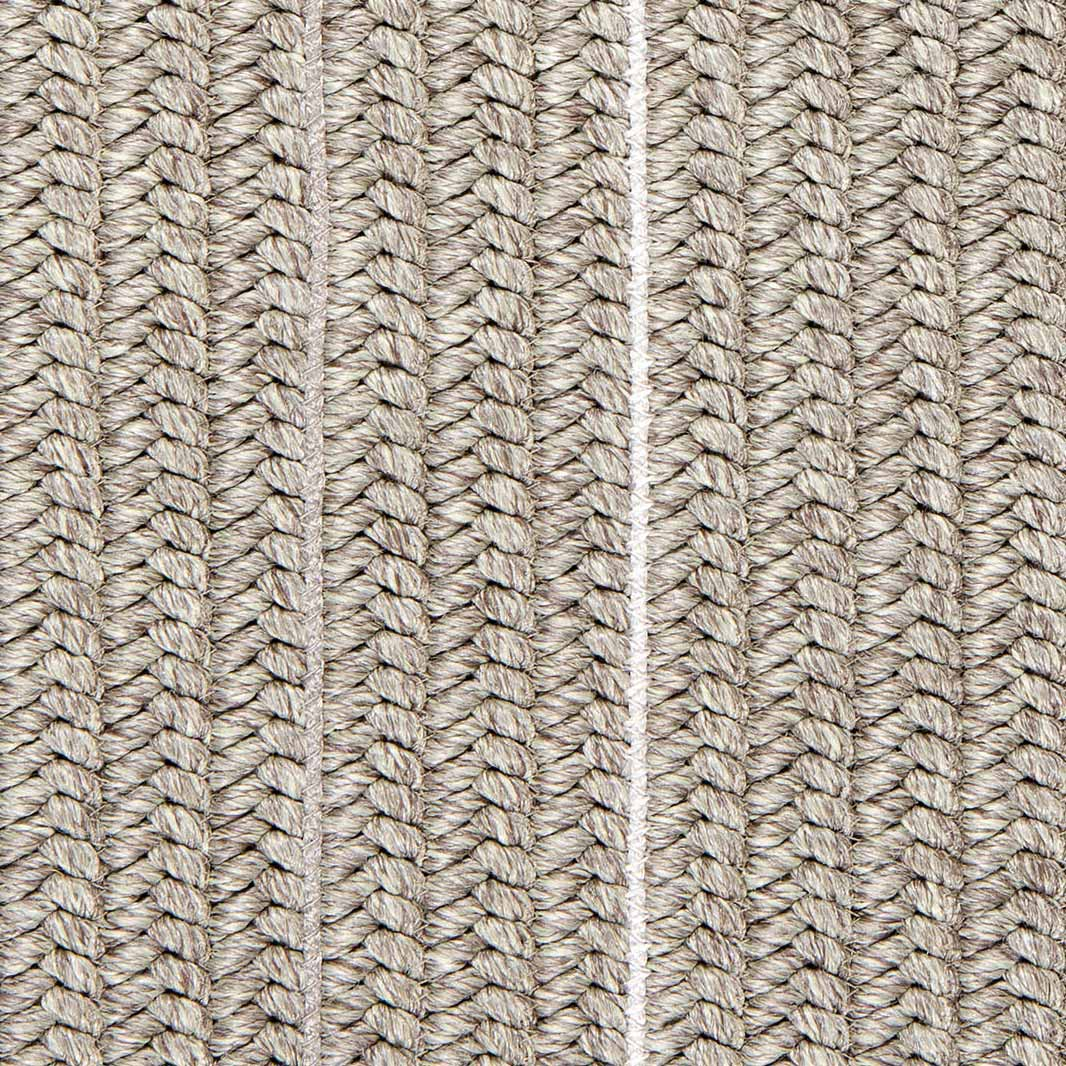 detailed view of weave structure (patio in moon silver)