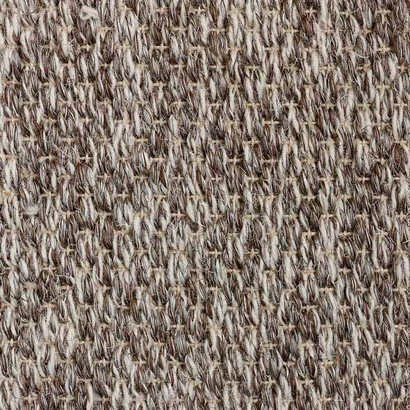 variety: sisal & wool show off their various shades in park avenue, tiger eye pattern