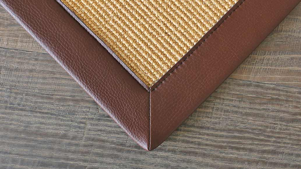 Faux Leather Binding